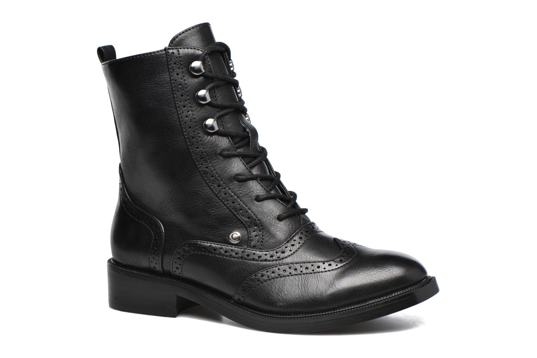 Chaussures à lacets Chattawak Marlene Noir vue détail/paire