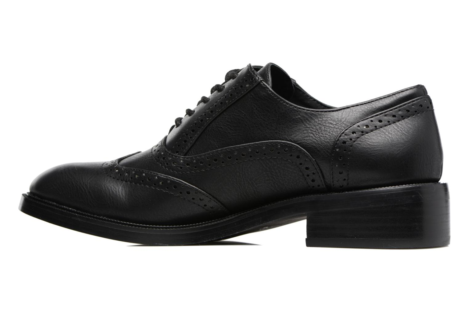 Lace-up shoes Chattawak Joanne Black front view