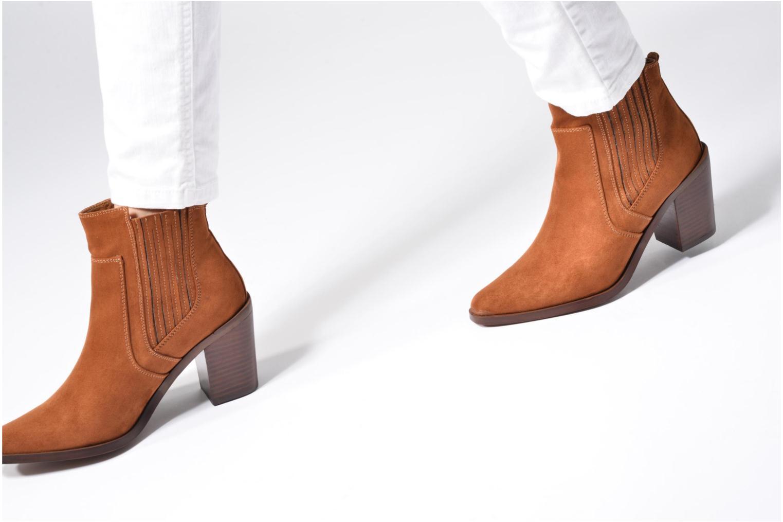 Bottines et boots Chattawak Laurence Noir vue bas / vue portée sac
