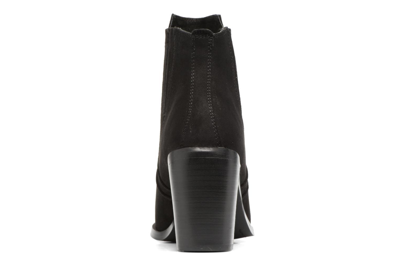 Bottines et boots Chattawak Laurence Noir vue droite