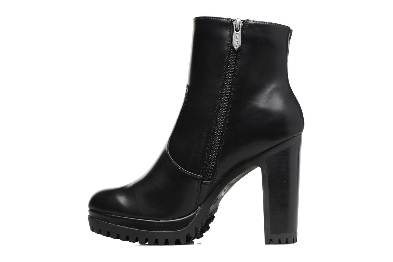 Bottines et boots Chattawak Manon Noir vue face