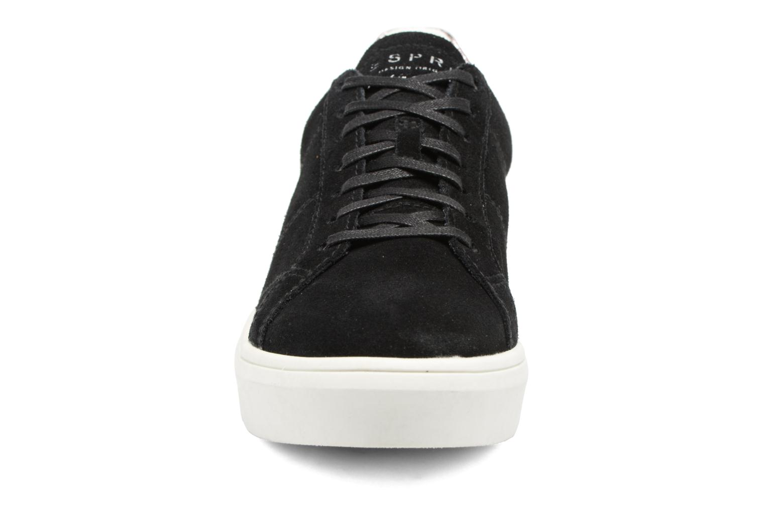 Trainers Esprit Elda Black model view