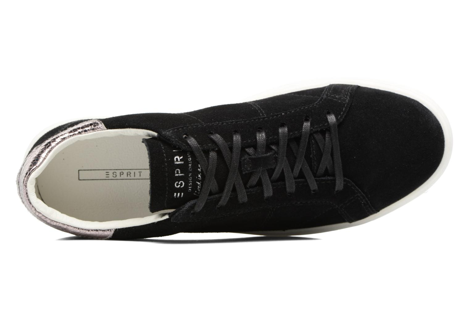 Trainers Esprit Elda Black view from the left