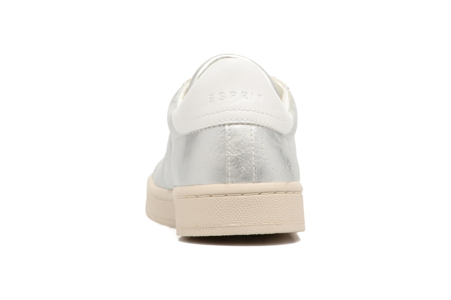 Trainers Esprit Gonda lou Silver view from the right