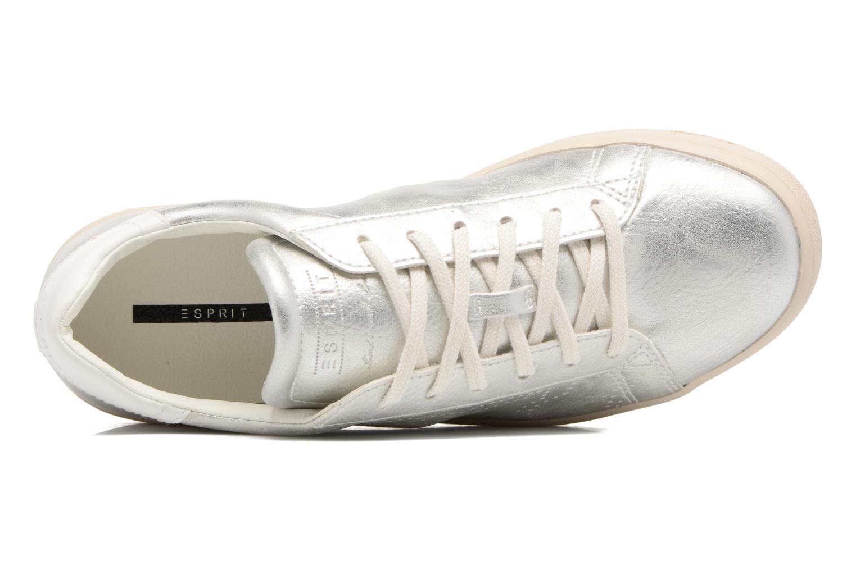 Sneaker Esprit Gonda lou silber ansicht von links