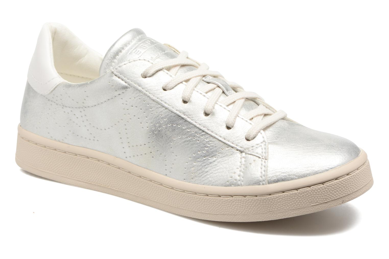 Marques Chaussure femme Esprit femme Gonda lou 090 Silver