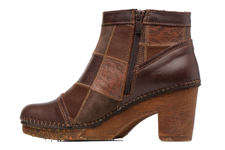 Bottines et boots Art AMSTERDAM 1054 Marron vue face