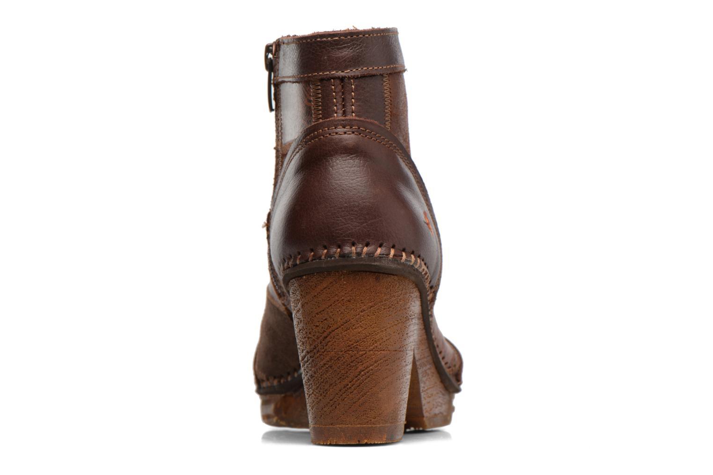 Bottines et boots Art AMSTERDAM 1054 Marron vue droite