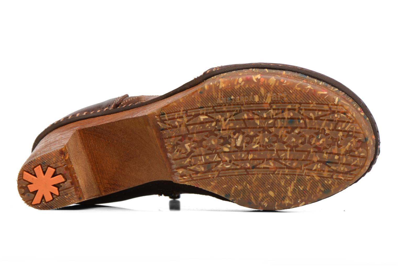 Bottines et boots Art AMSTERDAM 1054 Marron vue haut
