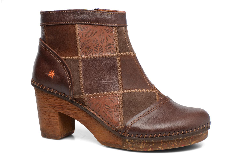 Bottines et boots Art AMSTERDAM 1054 Marron vue détail/paire