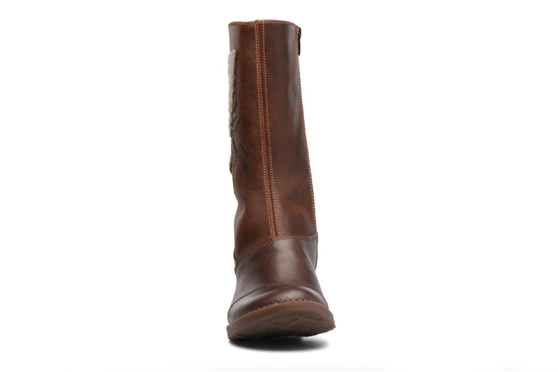 Bottines et boots Art OTEIZA 1221 Marron vue portées chaussures