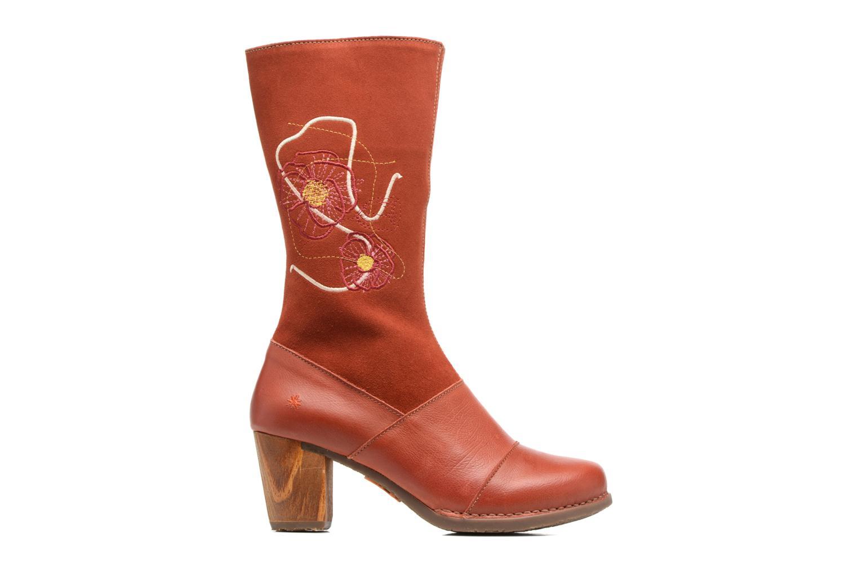 Boots & wellies Art SALZBURG 1246 Red back view