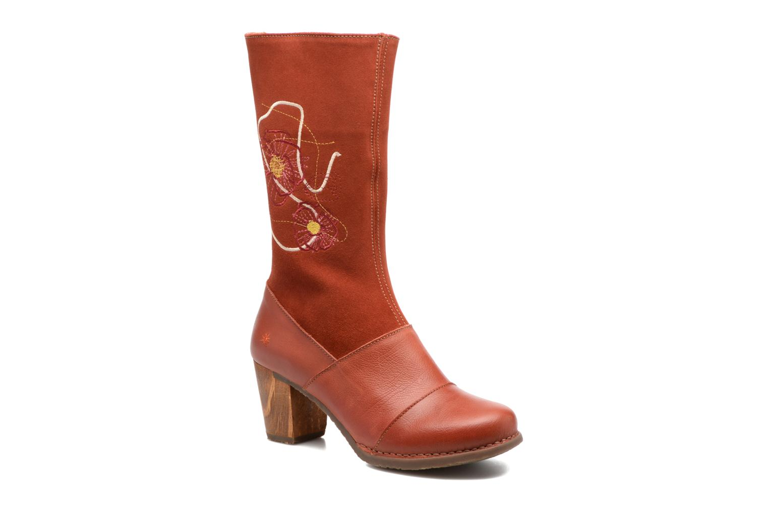 Boots & wellies Art SALZBURG 1246 Red detailed view/ Pair view