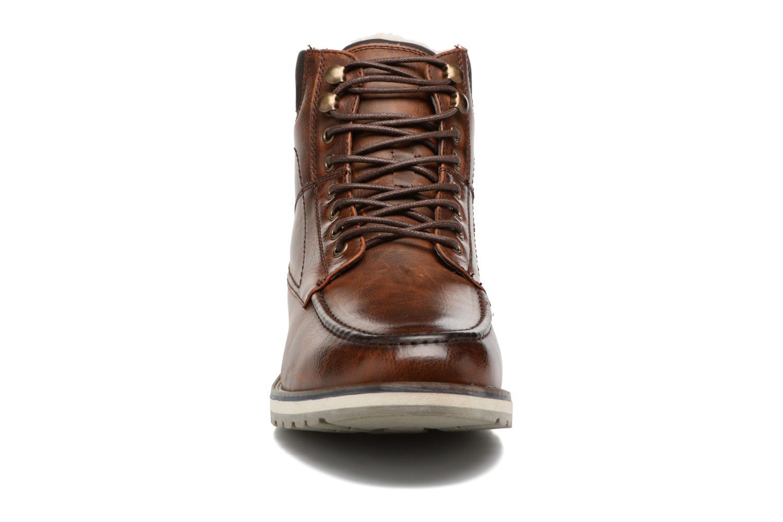 Stivaletti e tronchetti I Love Shoes SANDRIC Marrone modello indossato