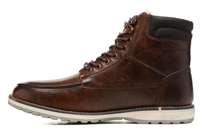 Stivaletti e tronchetti I Love Shoes SANDRIC Marrone immagine frontale