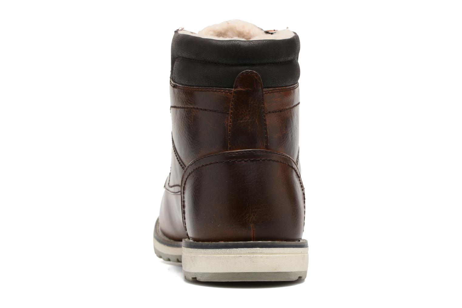 Ankle boots I Love Shoes SANDRIC Brown view from the right