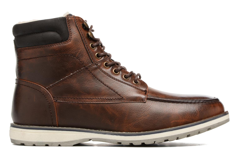 Boots en enkellaarsjes I Love Shoes SANDRIC Bruin achterkant