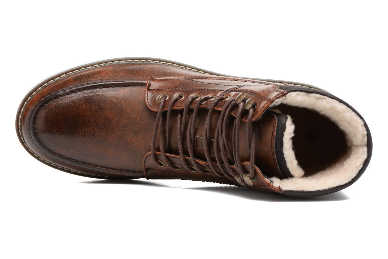 Boots en enkellaarsjes I Love Shoes SANDRIC Bruin links