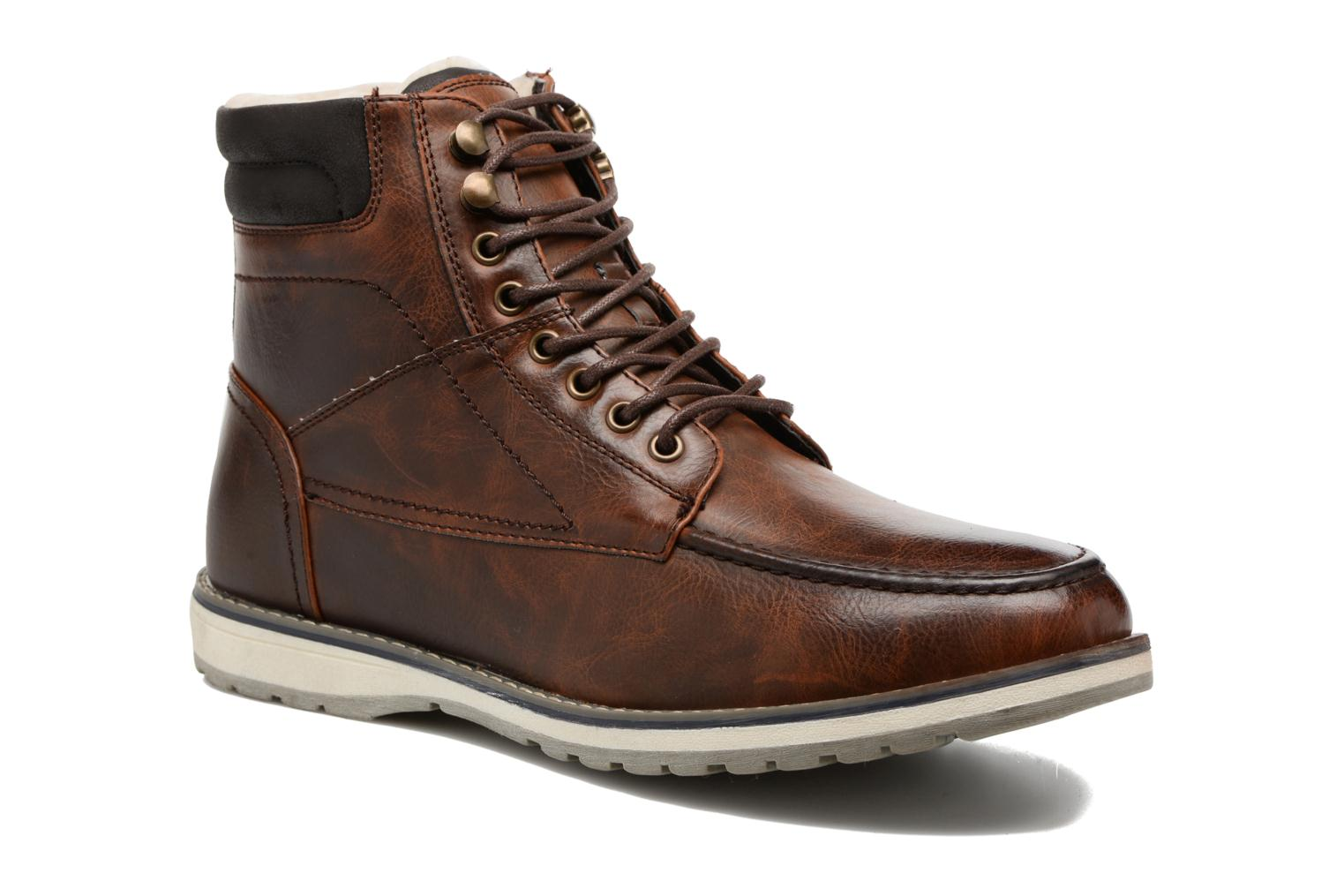 Ankle boots I Love Shoes SANDRIC Brown detailed view/ Pair view