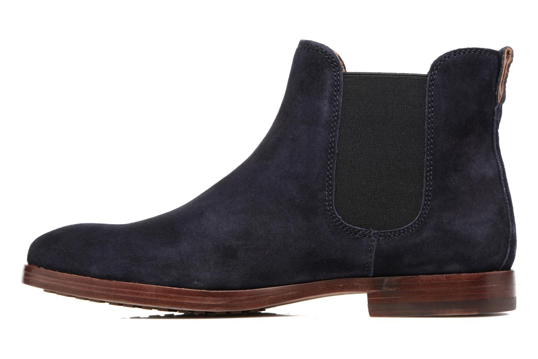 Bottines et boots Polo Ralph Lauren Dillian II Bleu vue face