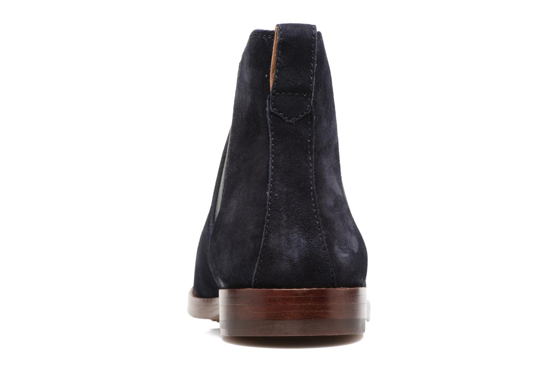 Bottines et boots Polo Ralph Lauren Dillian II Bleu vue droite