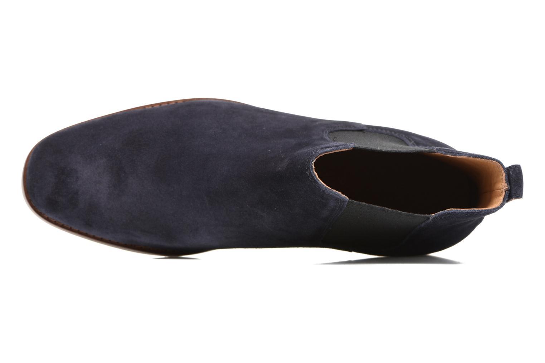 Bottines et boots Polo Ralph Lauren Dillian II Bleu vue gauche