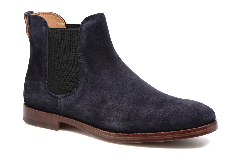Bottines et boots Polo Ralph Lauren Dillian II Bleu vue détail/paire