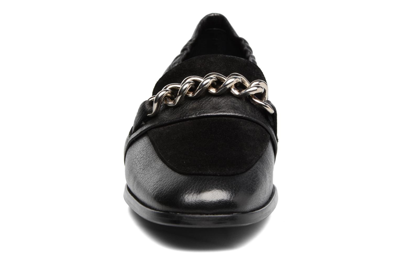 Slipper Billi Bi Karen schwarz schuhe getragen