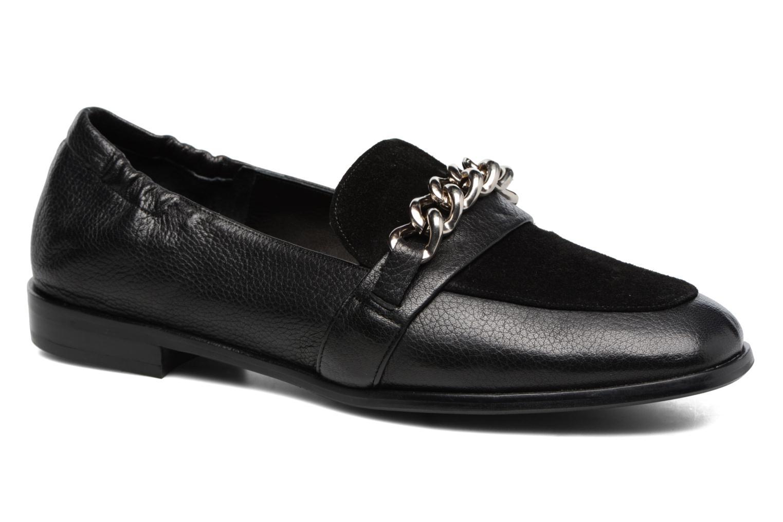 Loafers Billi Bi Karen Black detailed view/ Pair view