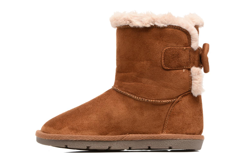 Stiefel I Love Shoes FRANN braun ansicht von vorne