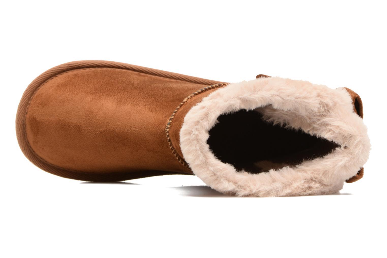 Stiefel I Love Shoes FRANN braun ansicht von links