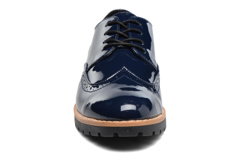 Scarpe con lacci I Love Shoes FANELY Azzurro modello indossato