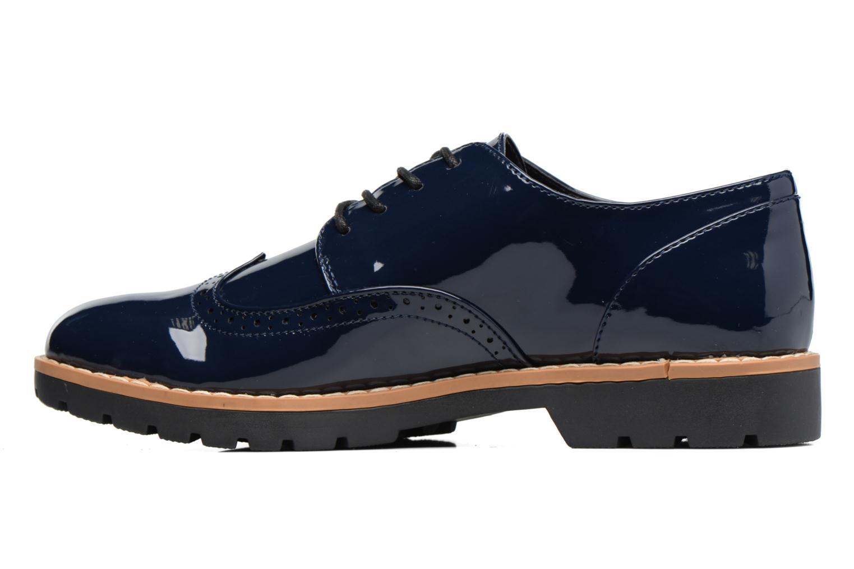 Schnürschuhe I Love Shoes FANELY blau ansicht von vorne