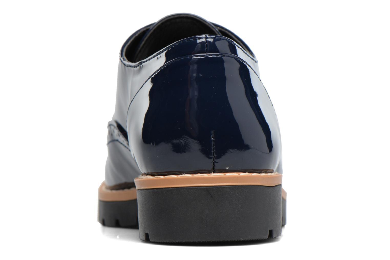Schnürschuhe I Love Shoes FANELY blau ansicht von rechts