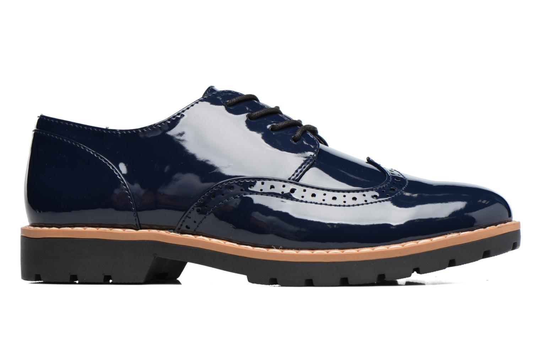 Schnürschuhe I Love Shoes FANELY blau ansicht von hinten