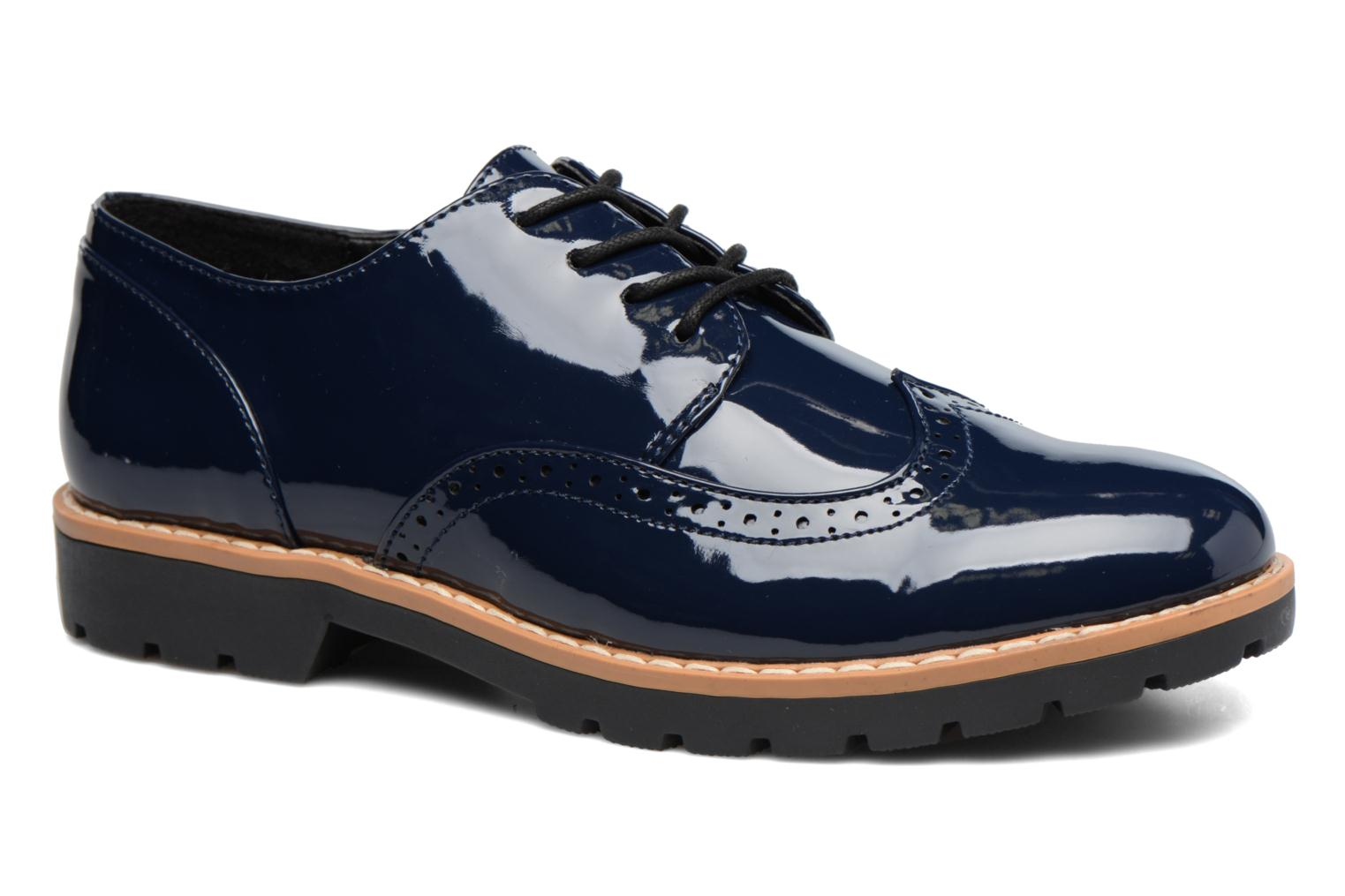 Lace-up shoes I Love Shoes FANELY Blue detailed view/ Pair view