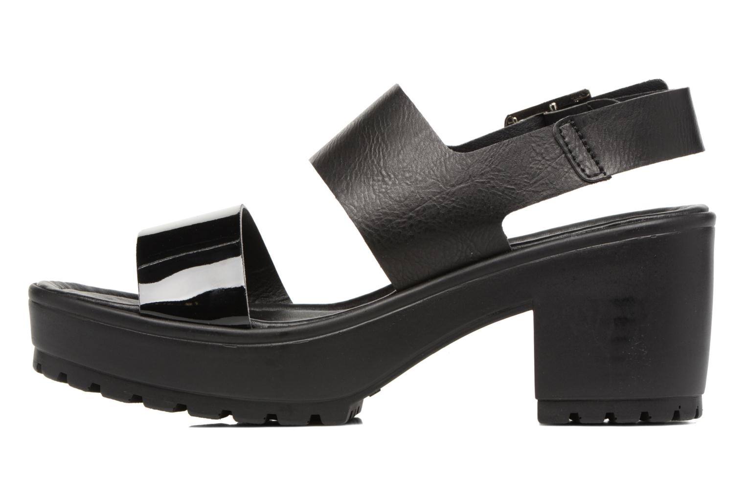 Sandals MTNG Charlot 50992 Black front view