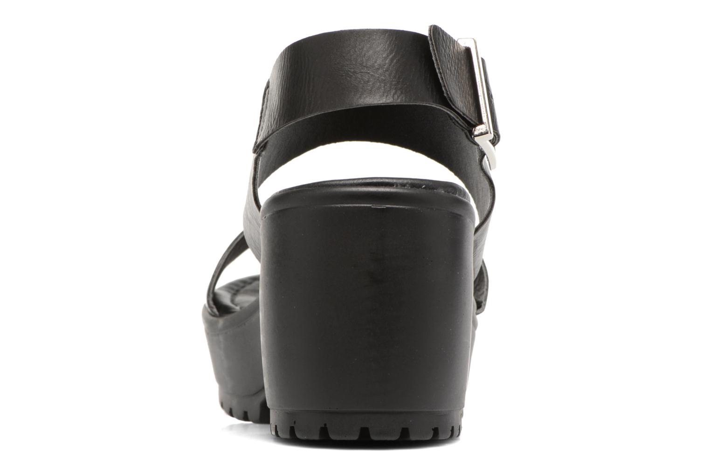 Sandalen MTNG Charlot 50992 schwarz ansicht von rechts