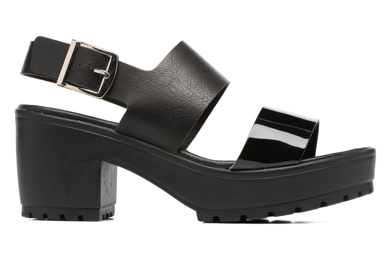 Sandales et nu-pieds MTNG Charlot 50992 Noir vue derrière