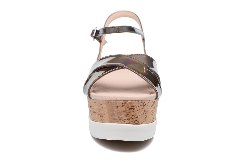 Sandales et nu-pieds MTNG Sun 51581 Gris vue portées chaussures