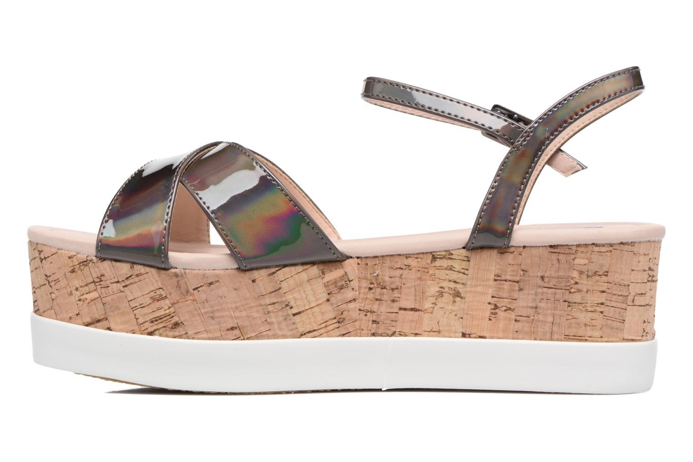 Sandali e scarpe aperte MTNG Sun 51581 Grigio immagine frontale