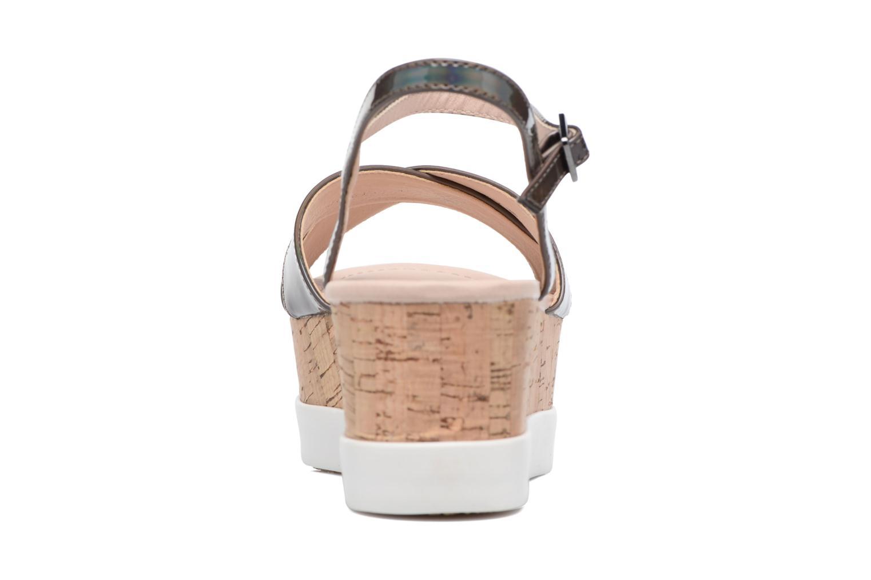 Sandales et nu-pieds MTNG Sun 51581 Gris vue droite