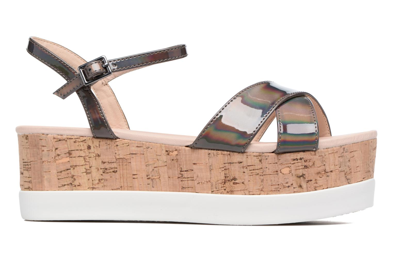 Sandales et nu-pieds MTNG Sun 51581 Gris vue derrière