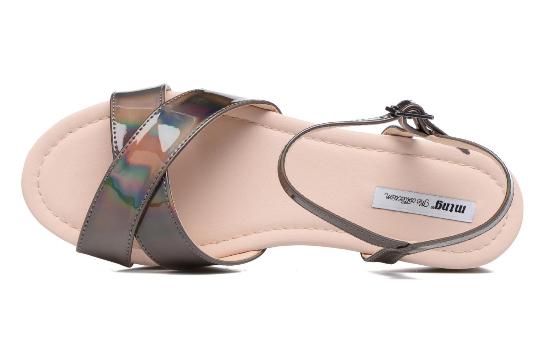 Sandales et nu-pieds MTNG Sun 51581 Gris vue gauche