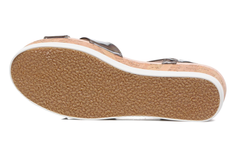 Sandales et nu-pieds MTNG Sun 51581 Gris vue haut