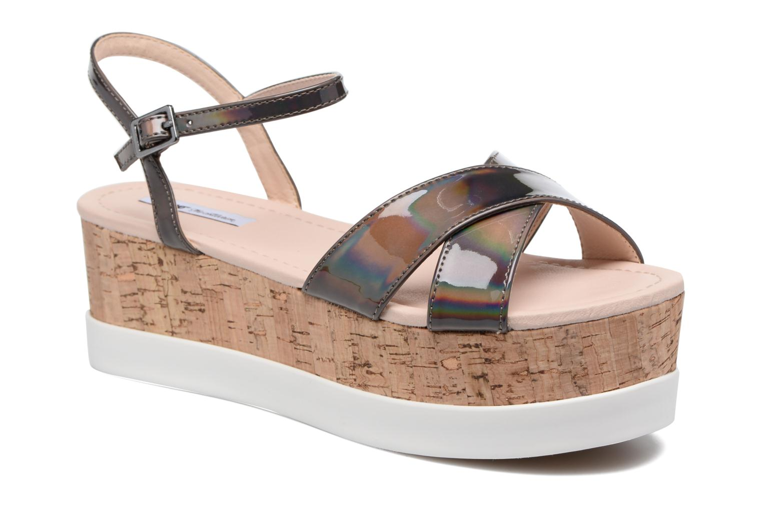 Sandals MTNG Sun 51581 Grey detailed view/ Pair view