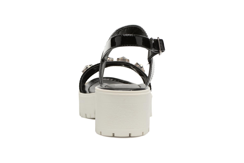 Sandales et nu-pieds MTNG Speck 51607 Noir vue droite