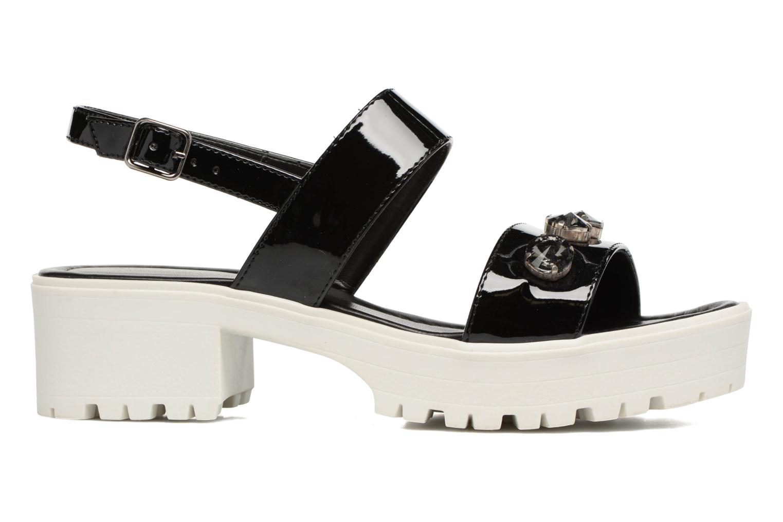 Sandales et nu-pieds MTNG Speck 51607 Noir vue derrière