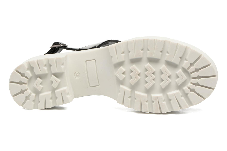 Sandales et nu-pieds MTNG Speck 51607 Noir vue haut