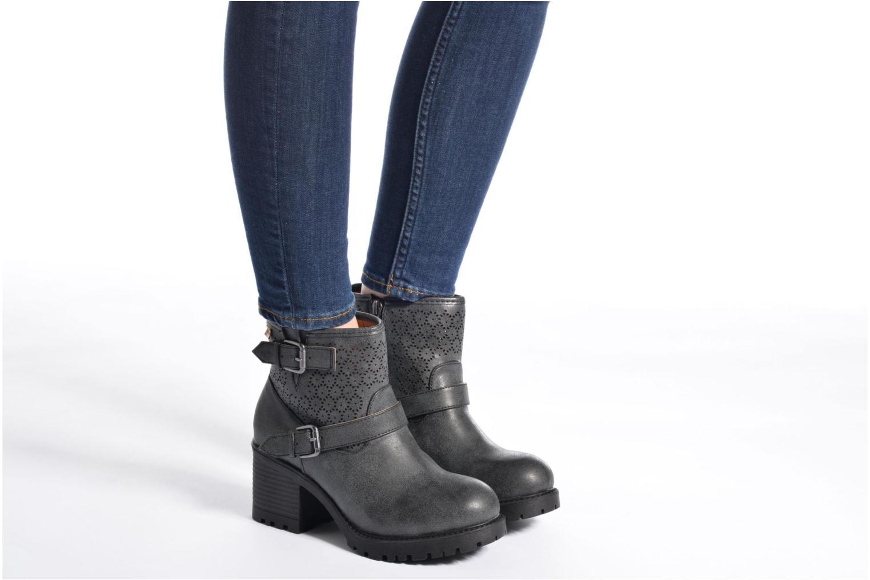 Bottines et boots MTNG Suevo 52469 Noir vue bas / vue portée sac